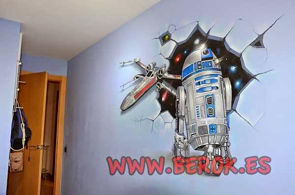 Mural Star Wars