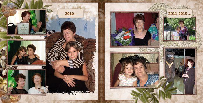 фотокнига в подарок на юбилей маме