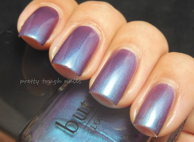 Butter London Petrol Topcoat