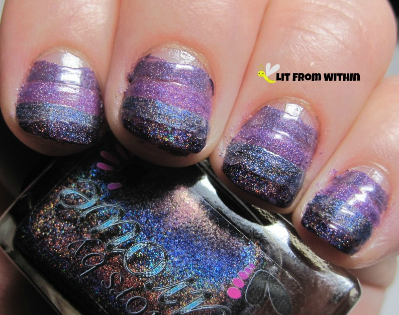 Colors by Llarowe Woman From Tokyo is a blackened purple