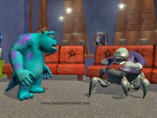 Monsters Inc Scared Island Game