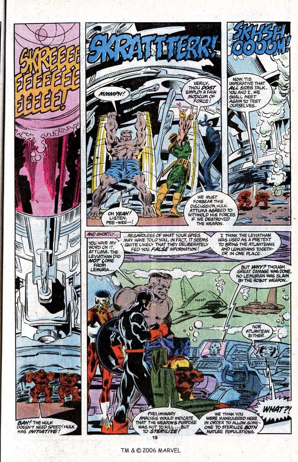 Captain America (1968) Issue #348c #280 - English 21