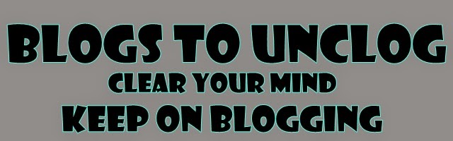Blogs to unclog