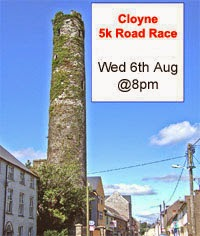Flat 5k in East Cork...6th Aug
