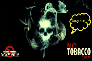 No Tobaco day : May 31st 2012