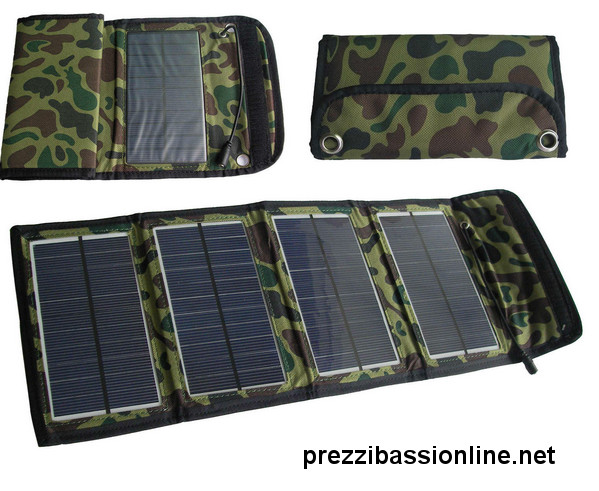 Pannello Solare Portatile Per Bici : Pannelli solari portatili pieghevoli di qualità per
