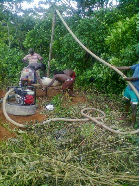 borehole drilling services in ajibawo