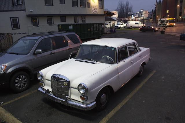 1968 Mercedes-Benz 200D.