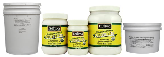 Nutiva Extra Virgin Coconut Oil Series