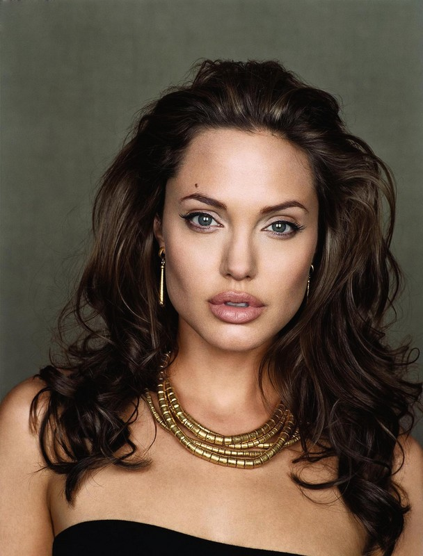 Angelina Jolie Long Hairstyles 1