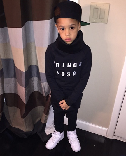 Fabolous and Emily Bustamante son Johan