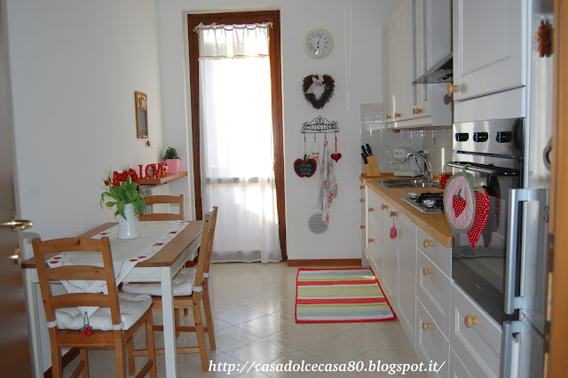 casa dolce casa...: Of a cosy kitchen!