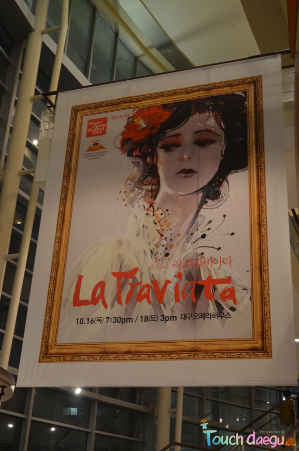 La Traviata, one of the opera performances during the Daegu International Opera Festival
