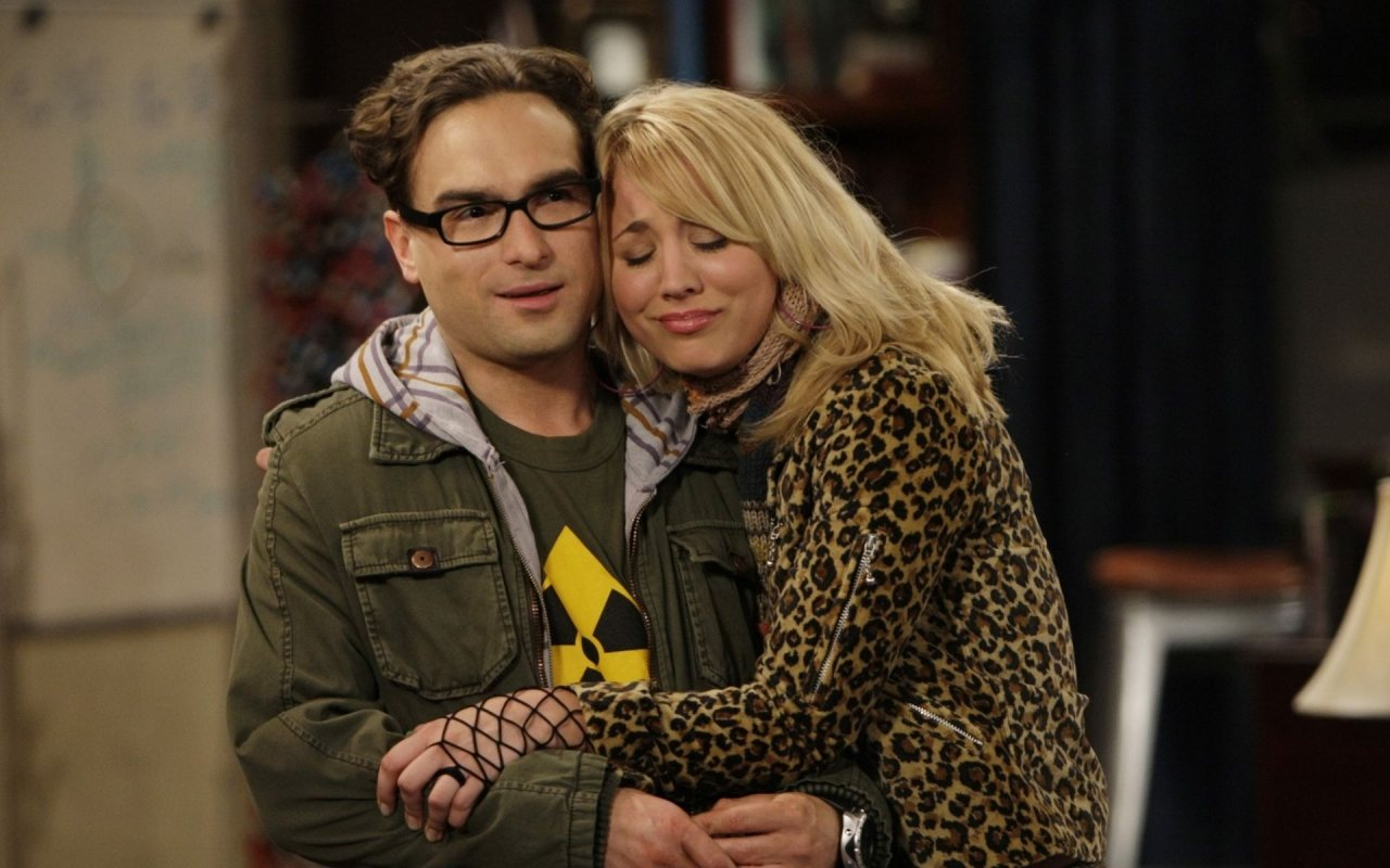 Big Bang Theory Leonard And Penny
