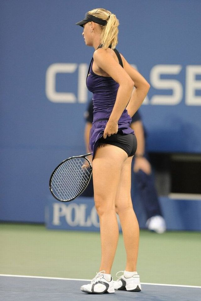 Female hot player tennis women