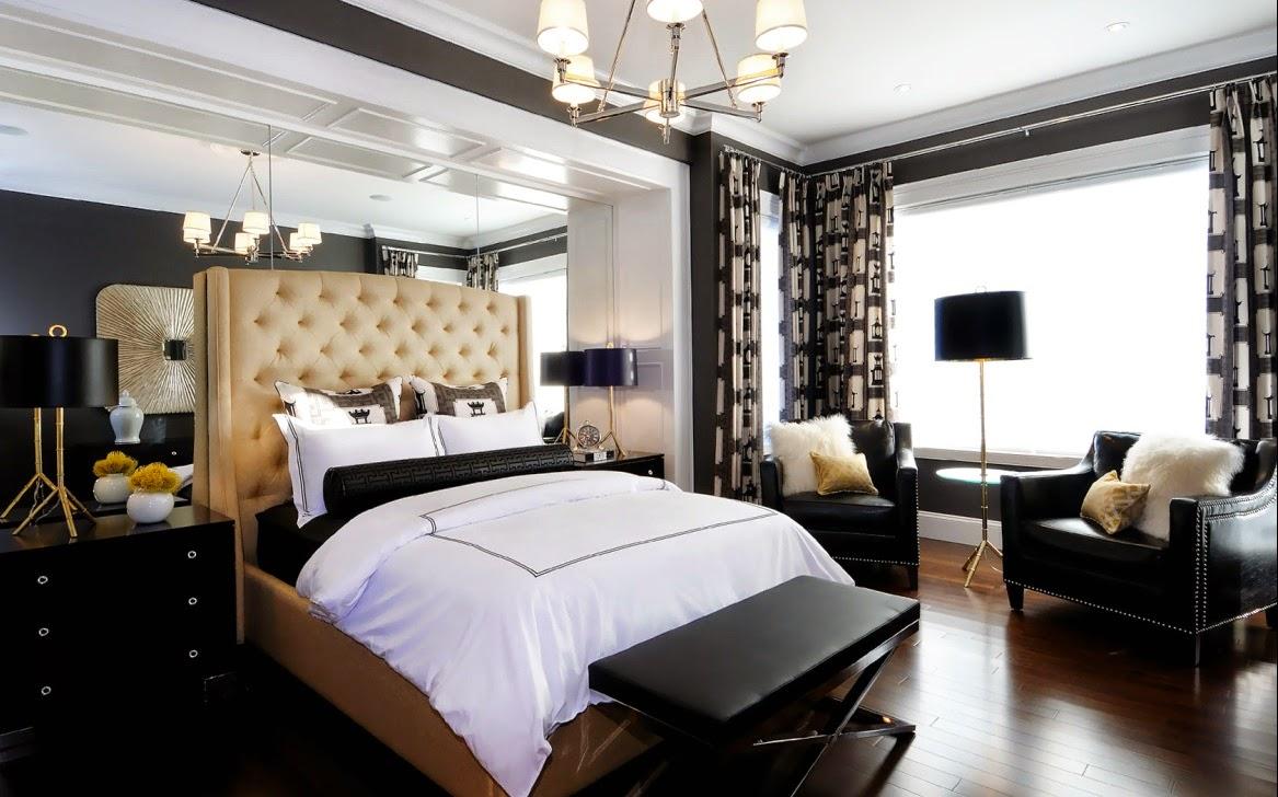 10 Quartos De Casal Decorado Preto E Branco De Luxo Quartos Decorado  -> Sala De Estar Decorada Tok Stok