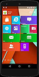Metro UI Launcher Android