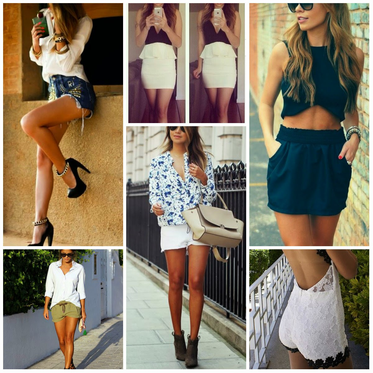 Outfit Fashion Collage