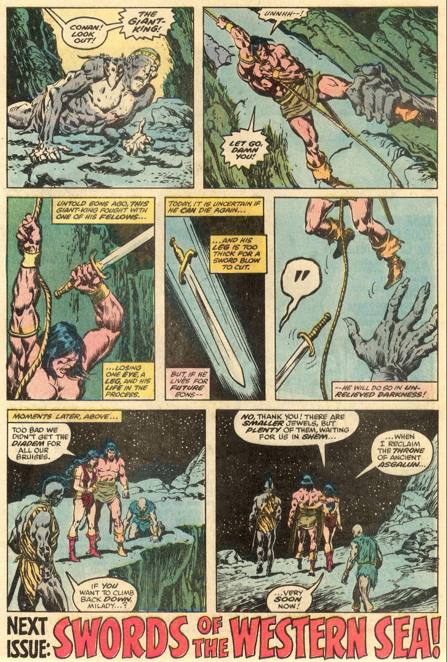 Conan the Barbarian (1970) Issue #90 #102 - English 19
