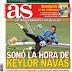 La hora de Keylor Navas, hoy Elche-Madrid: las portadas