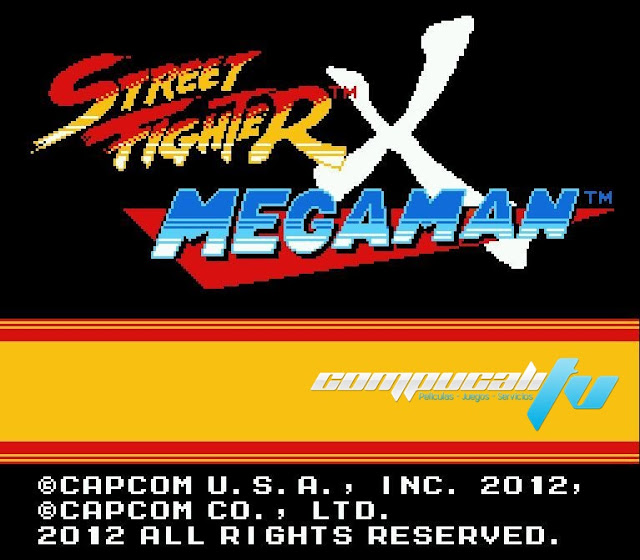 Street Fighter X Mega Man Juego para PC EXE 1 Link 2012