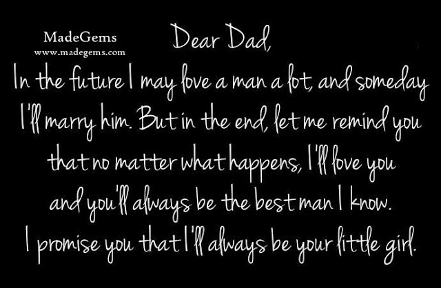 Father's Day Cute Message From A Girl to Father
