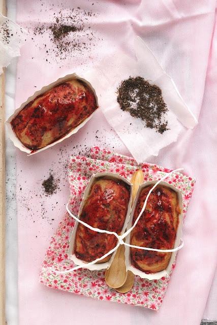 Pencil Kitchen Black Tea Cake With Strawberry Tea Jam