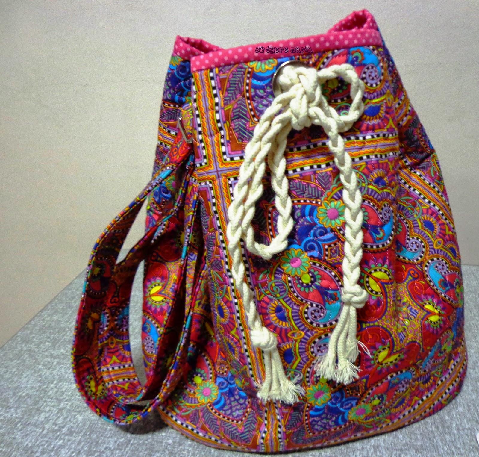 Bolsa De Tecido Redonda : By there maria bolsas tecido e porta moedas