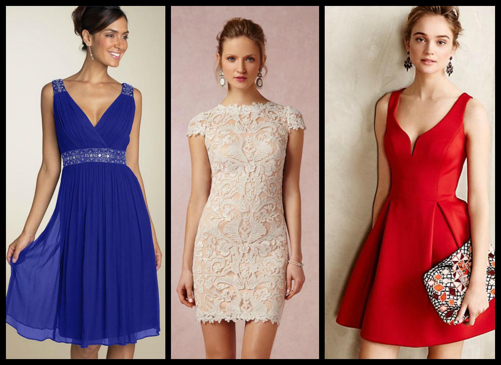 Vestido de festa curto: Modelos lindos para arrasar!   Beleza em Cachos