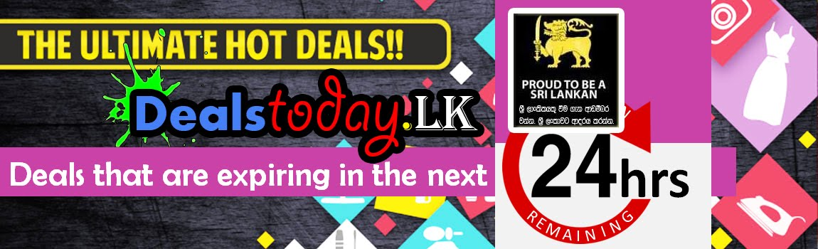 Best Daily Deals, Offers and Discounts - Sri Lanka
