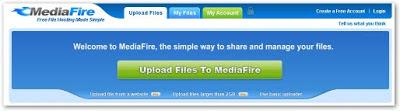 Trik Sederhana mencari file di Mediafire