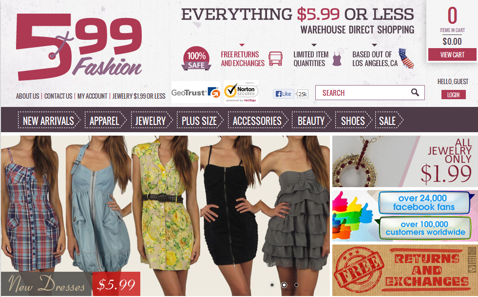2 places to buy cheap discount clothes online for Great places to shop online