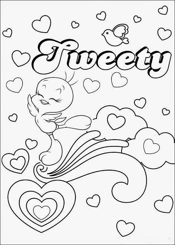 Tweety Bird coloring.filminspector.com