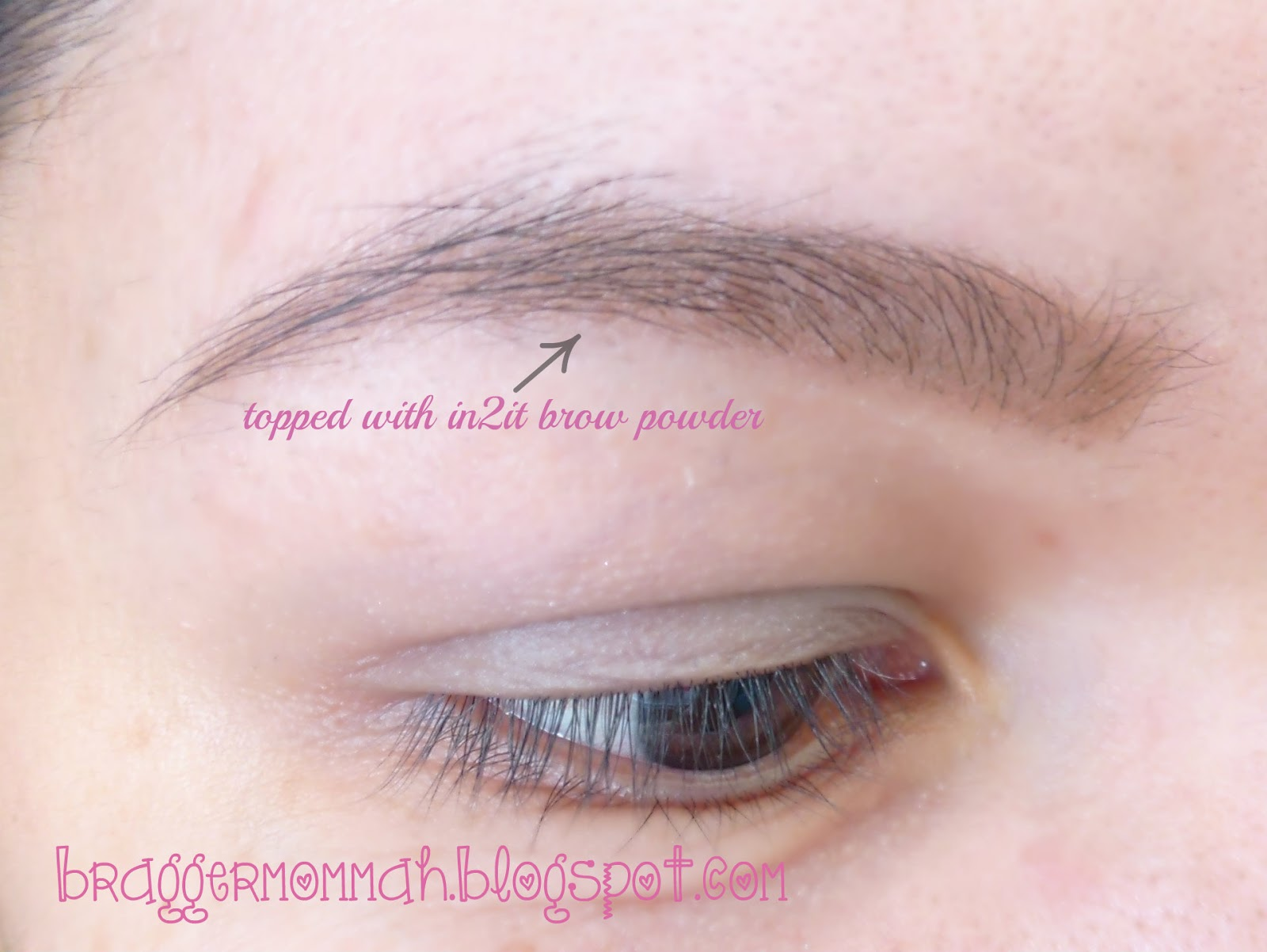 Braggermommah a naturally colored lids maybelline color for Natural eyebrow tattoo