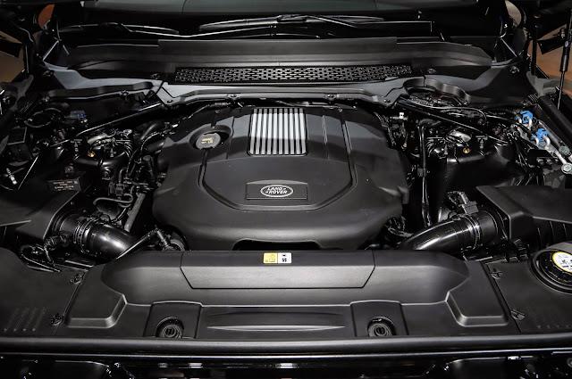 2016 Range Rover Sport engine