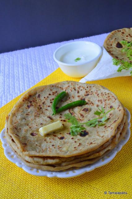 Punjabi Aloo Parantha