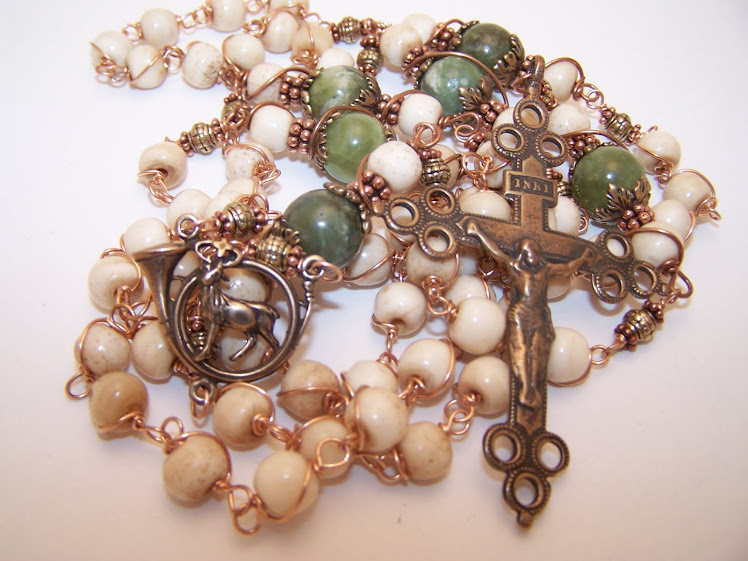 No. 40.  Newly Listed!  Rosary Of St. Hubert (SOLD)