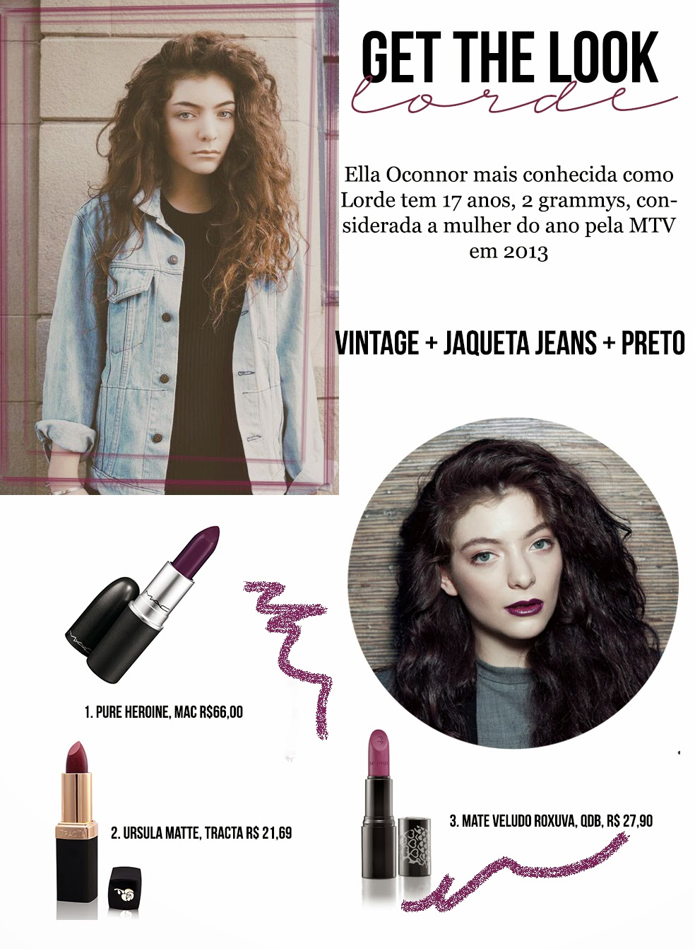 get the look lorde, pure heroine, estilo lorde