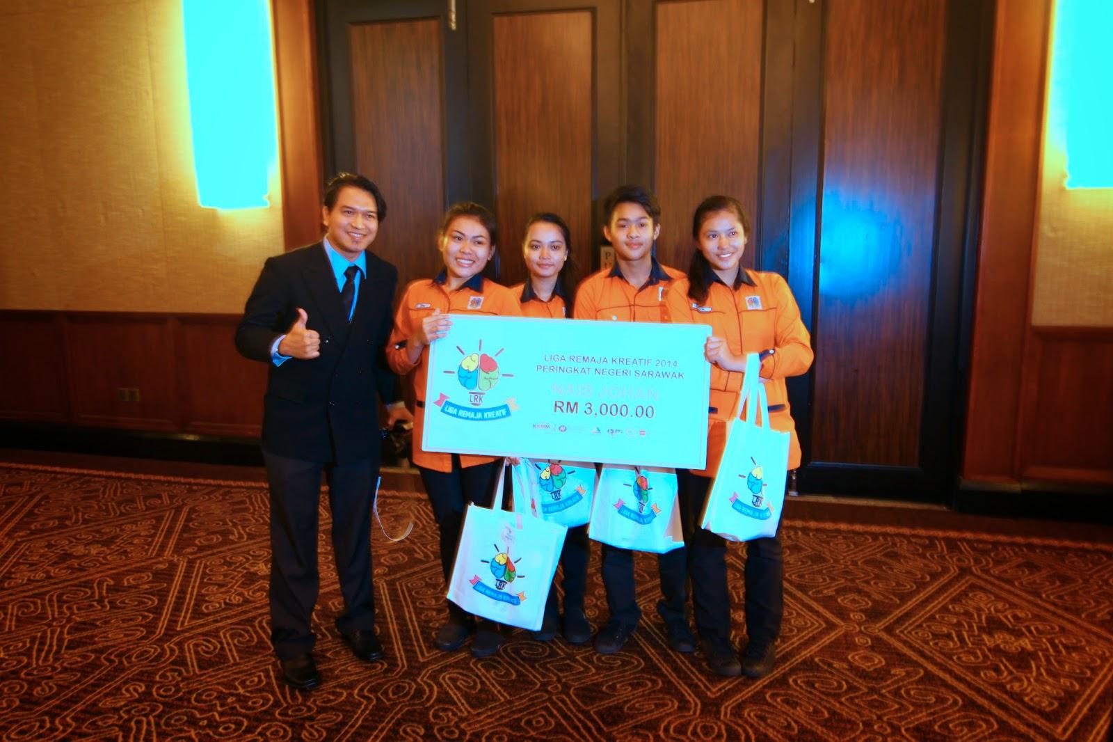Liga Remaja Kreatif 2014 (Zon Sarawak) KOLEJ VOKASIONAL BINTULU!