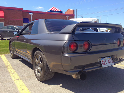 First American Imported Nissan Skyline GTR with HUGE Exhaust