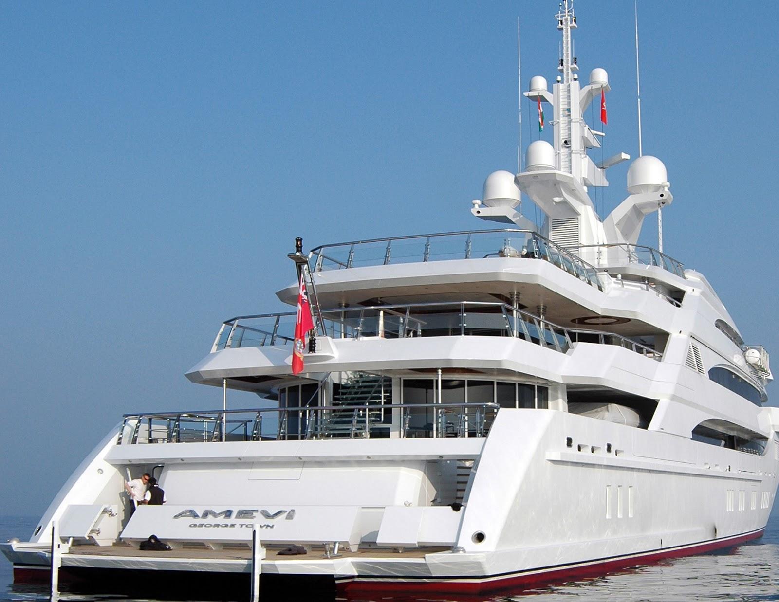 Megayacht AMEVI