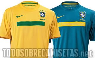Nike anunciaram planos para renovar as camisas uma vez por ano até 2016 em  face dos acontecimentos mais importantes (Copa América 2011 53e753530b5b9