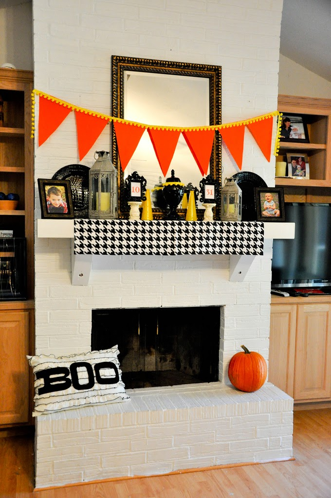 Painting Brick Fireplace style