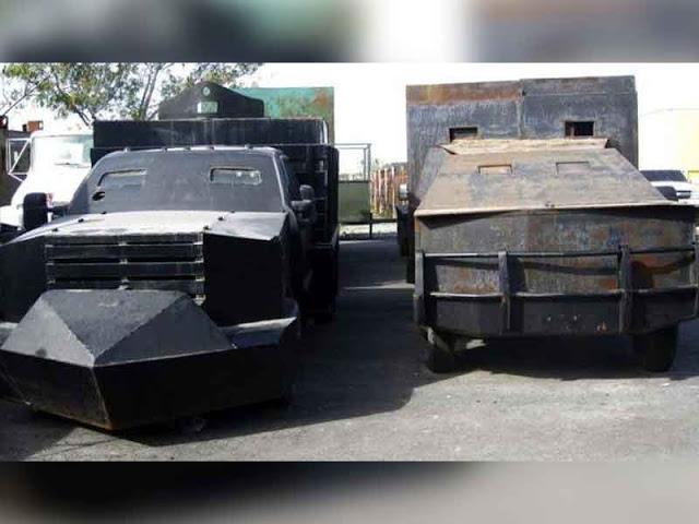 veh u00edculos blindados que fueron decomisados a narcos mexicanos  el  3 es del chapo guzman