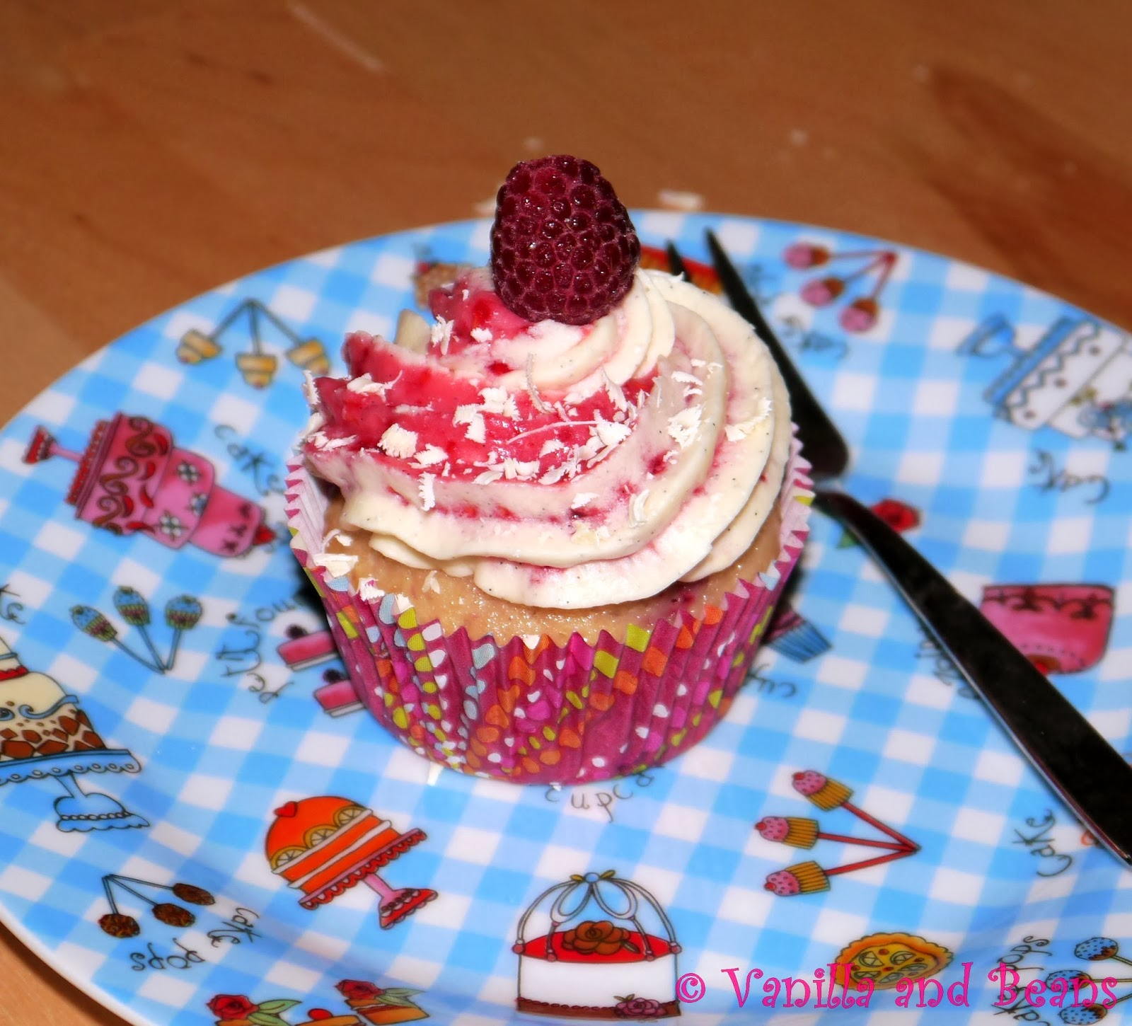 Himbeer-Vanille-Cupcakes