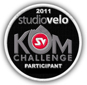 studio velo 2011 KOM Challenge Badge