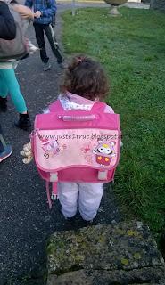 rentrée scolaire école juste 1 truc maternelle bambin enfant