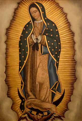 Because two people fell in LOVE...: Feast of Our Lady of Guadalupe