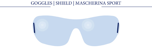 GOOGGLES - SHILED - MASCHERINA SPORT
