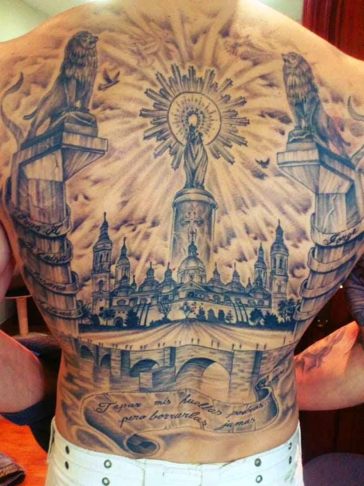Tatuaje de Zaragoza